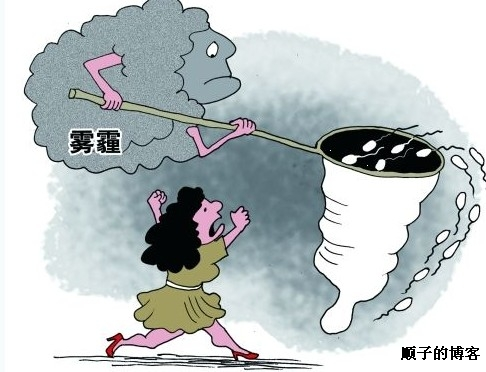 雾霾天气升级-上海频降粪便雨太惊人