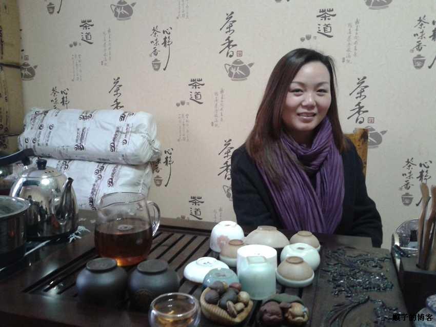 安化黑茶郑州直销团队洋洋老师