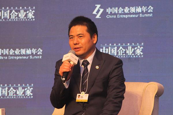 蒋锡培在中国企业领袖年会分享企业家精神