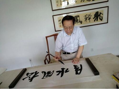 一笔一墨自芬芳――访艺联合书画院副院长黄兆谦